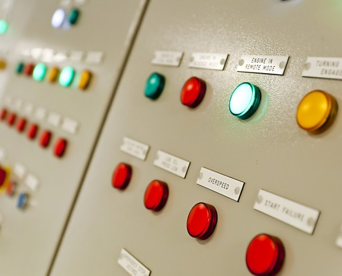 Hardwired Control Panel